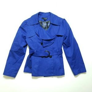 Willie Smith Ava Fit Sharp Blue Coat